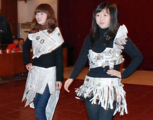互动晚会和联欢会游戏——时装秀